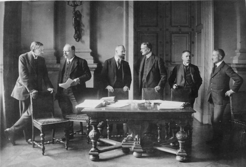 Deutschland und der Versailler Vertrag