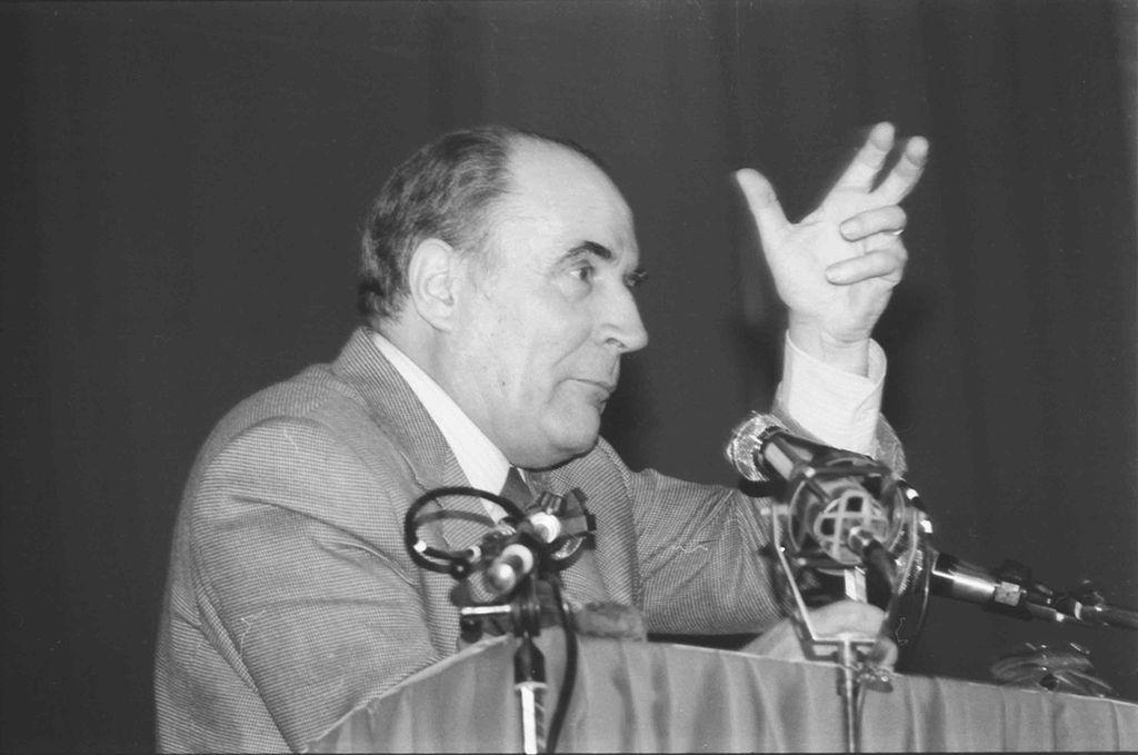 Francois Mitterand – der erste Sozialist im Élysée-Palast
