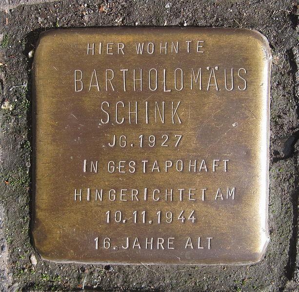 Bartholomäus Schink