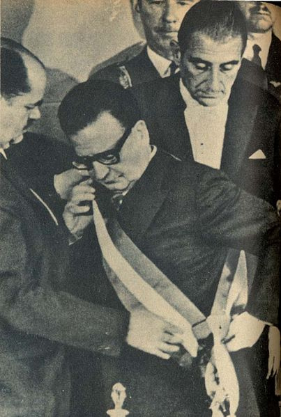Amtseinführung von Salvador Allende