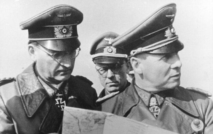 Erwin Rommel und Hans Speidel
