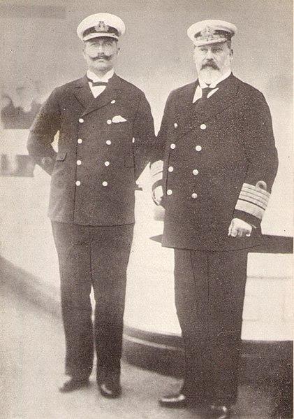Wilhelm II. und Edward VII