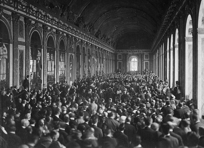Unterzeichnung des Versailler Vertrages am 28. Juni 1919