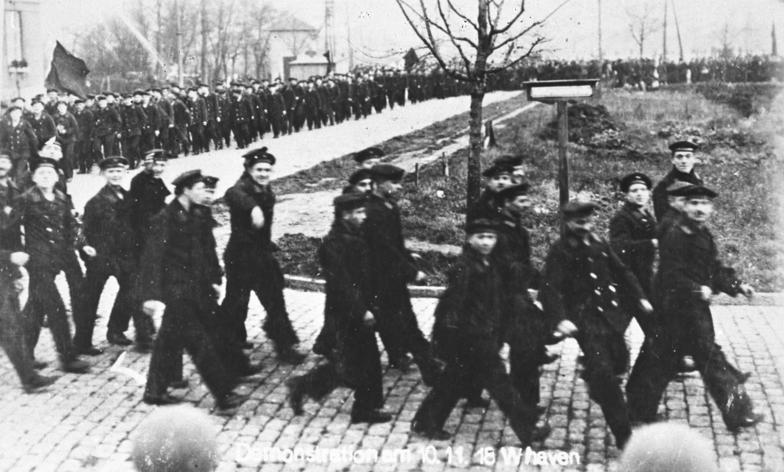 Revolution in Wilhelmshaven