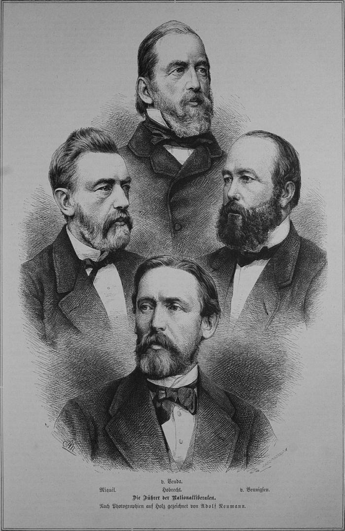 Bekannte Politiker der Nationalliberalen Partei