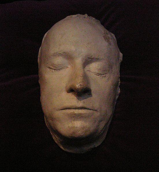 Die Totenmaske des Monarchen