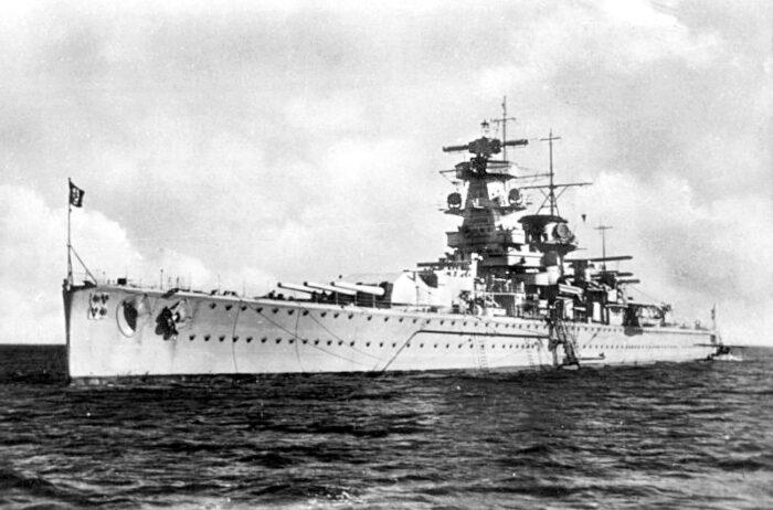 """Die """"Admiral Graf Spee"""""""